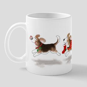 Holiday Beagle Mug