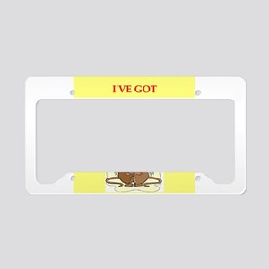 lab rats License Plate Holder