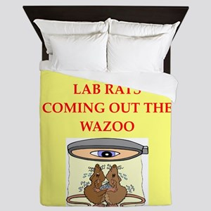 lab rats Queen Duvet