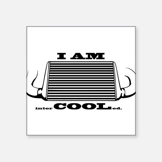 I am intercooled Sticker