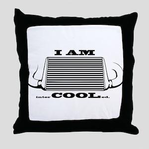 I am intercooled Throw Pillow
