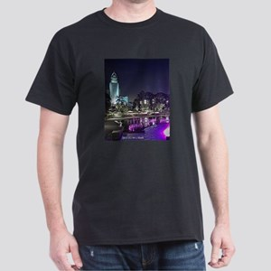 View of Grand Park at night T-Shirt