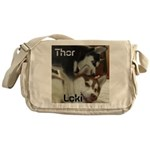 Thor getting Loki Messenger Bag