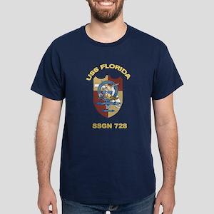 USS Florida SSGN 728 Dark T-Shirt