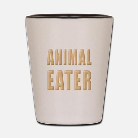 Animal Eater Shot Glass