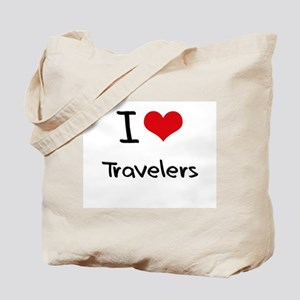 I love Travelers Tote Bag