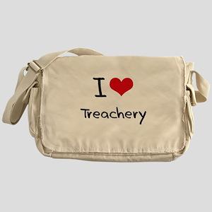 I love Treachery Messenger Bag