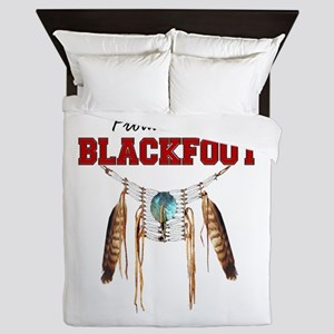 Proud To Be Blackfoot Queen Duvet