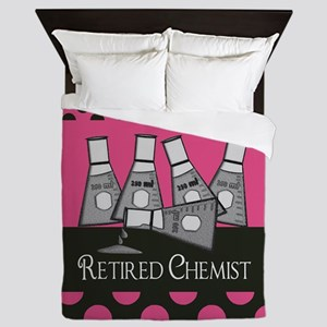 Retired Chemist 4 Queen Duvet
