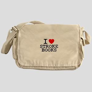 I LOVE STROKE BOOKS Z Messenger Bag