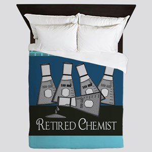 Retired Chemist 3 Queen Duvet