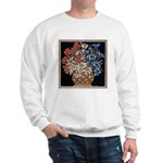Edelweiss Bouquet White Sweatshirt