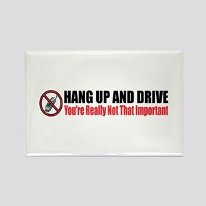 Hang Up and Drive Rectangle Magnet (10 pack)