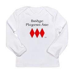 Bridge players have a heart Long Sleeve T-Shirt