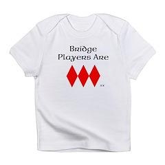 Bridge players have a heart Infant T-Shirt