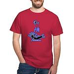 Kokopelli Skydiver Dark T-Shirt