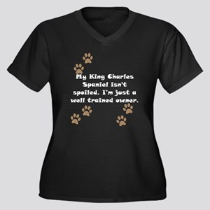 Well Trained King Charles Spaniel Owner Plus Size