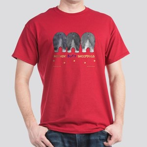 Nothin' Butt Sheepdogs Red T-Shirt