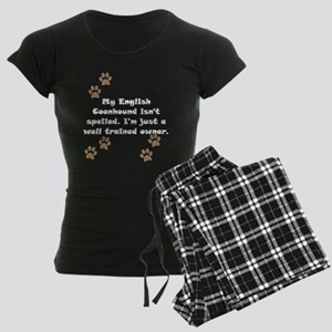 Well Trained English Coonhound Owner pajamas