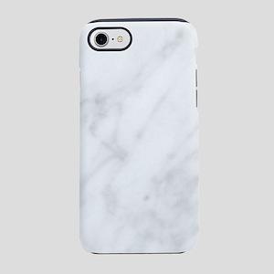 White Marble iPhone 7 Tough Case