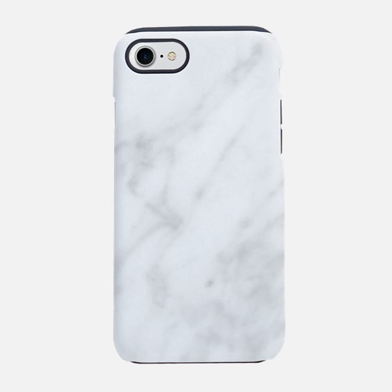 White Marble iPhone 7 Tough Case
