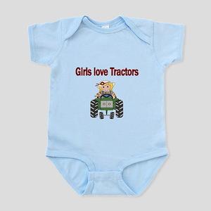 Girls love Tractors Body Suit
