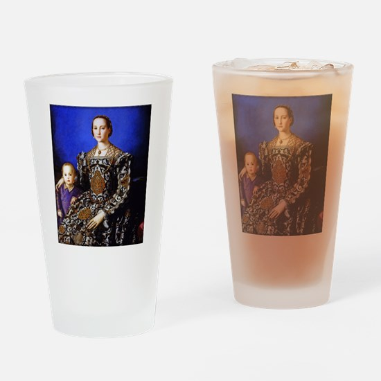 Bronzino - Eleonora di Toledo Drinking Glass