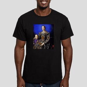 Bronzino - Eleonora di Toledo Men's Fitted T-Shirt