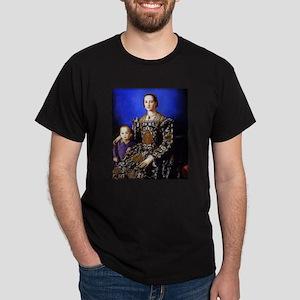 Bronzino - Eleonora di Toledo Dark T-Shirt