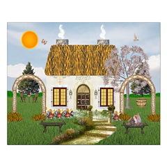 Sunshine Cottage Print