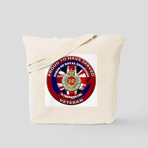 proud to be a royal engineer veteran Tote Bag