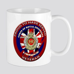 proud to be a royal engineer veteran Mug
