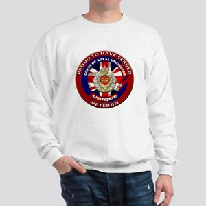 proud to be a royal engineer veteran Sweatshirt