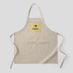 I LOVE TEQUILA Light Apron