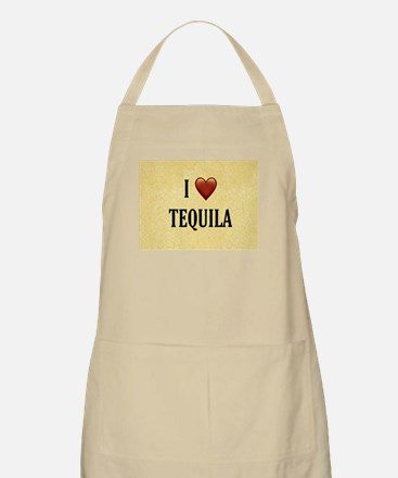 I LOVE TEQUILA Light Apron