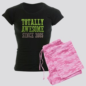 Totally Awesome Since 2005 Women's Dark Pajamas