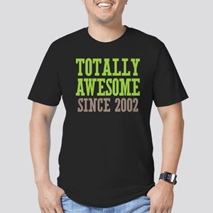 Totally Awesome Since 2002 Men's Fitted T-Shirt (d