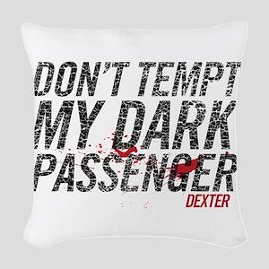 Dark Passenger Woven Throw Pillow