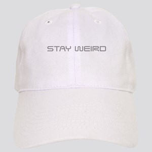 stay-weird-saved-gray Baseball Cap