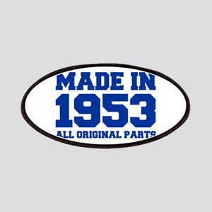 made-in-1953-fresh-blue Patches