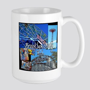 Coney Island Bklyn Baby Mugs
