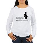 I Consent Women's Long Sleeve T-Shirt
