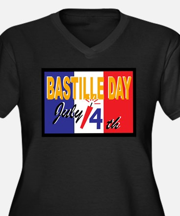 bastille5 Plus Size T-Shirt