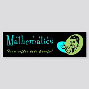 Major in... Mathematics Bumper Sticker
