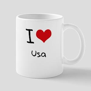I love Usa Mug
