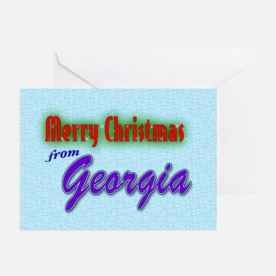 Georgia Christmas Cards (Pk of 10)