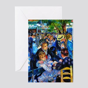 Renoir: Dance at Moulin d.l. Galette Greeting Card