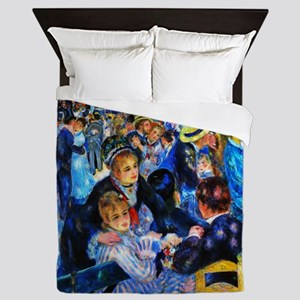 Renoir: Dance at Moulin d.l. Galette Queen Duvet