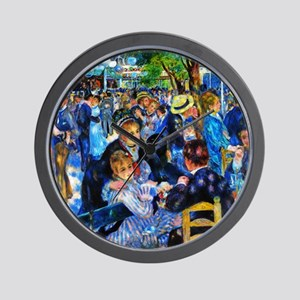 Renoir: Dance at Moulin d.l. Galette Wall Clock