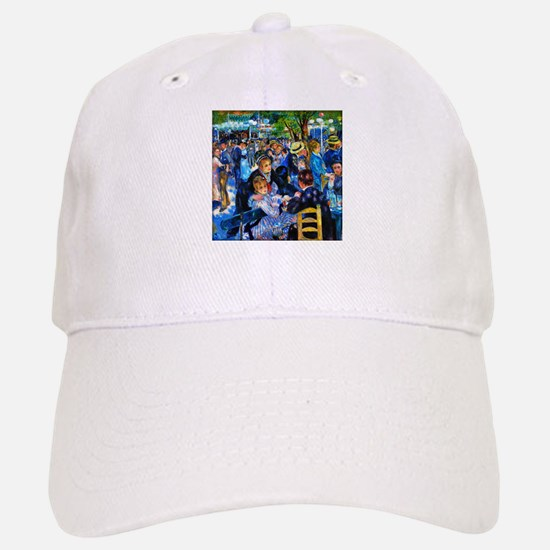 Renoir: Dance at Moulin d.l. Galette Baseball Baseball Cap